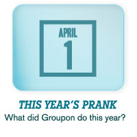 This Year's Prank