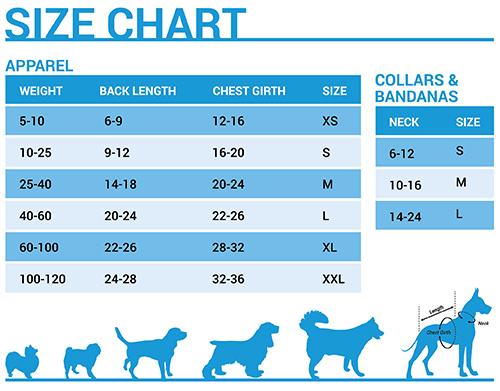 great dane size chart