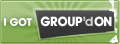 Groupon I got Group'd on Badge