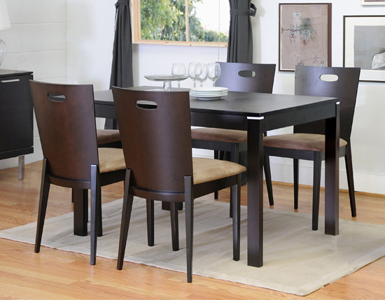 gg baxton studio 5 piece modern dining set 2. $329 for a baxton studio lamar dark-brown five-piece modern dining set ($799 list price) gg 5 piece 2 k