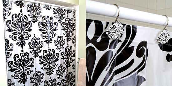 Damask Shower Curtain | Shower Curtain