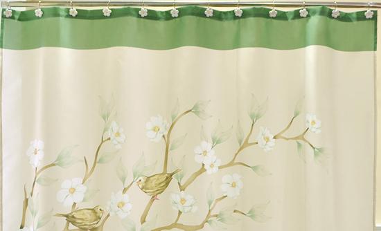magnolia 13piece shower curtain set