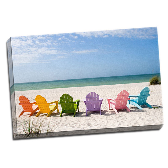 picture it on canvas beach canvas print