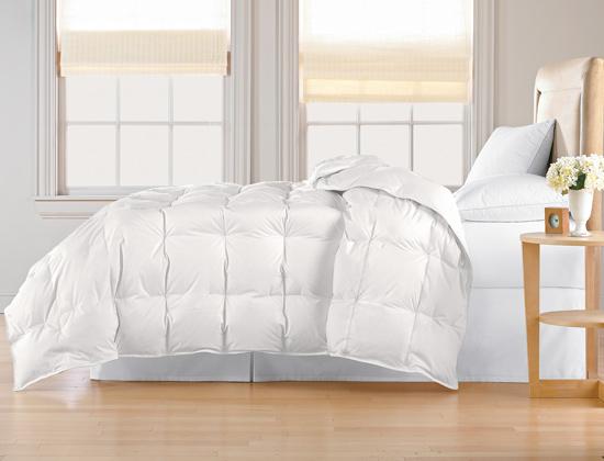 All Seasons White Down Comforter