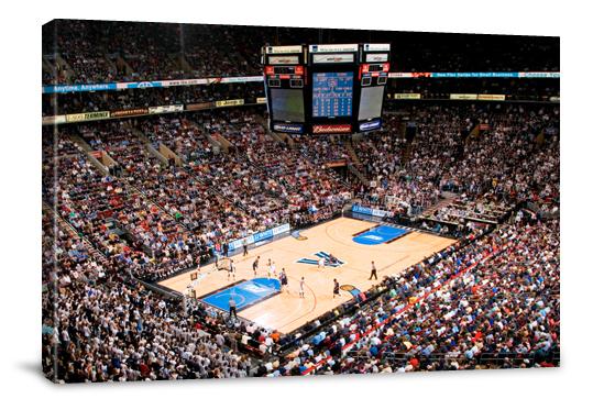 College Basketball Arena Prints