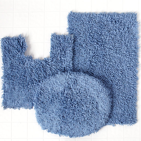 Blue Bathroom Rug Sets Roselawnlutheran