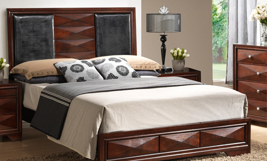 Good $1,299.99 For Windsor Brown 5 Piece Modern Bedroom Set   King Size ($2,099  List Price)