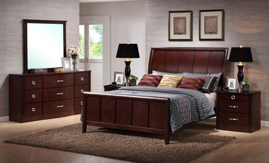 Queen 5-Piece Modern Bedroom Set