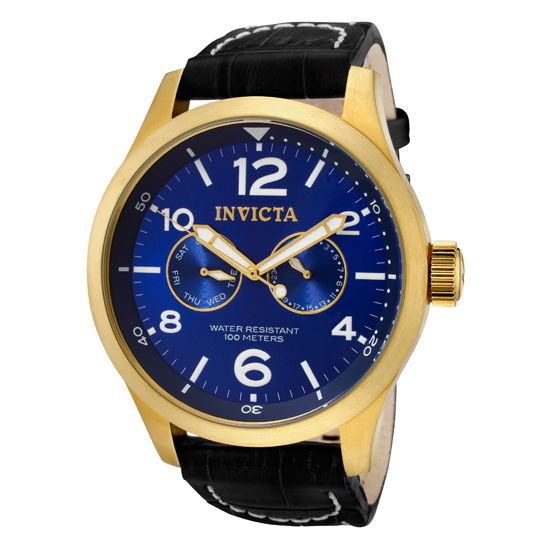 invicta specialty men s with calf leather bands