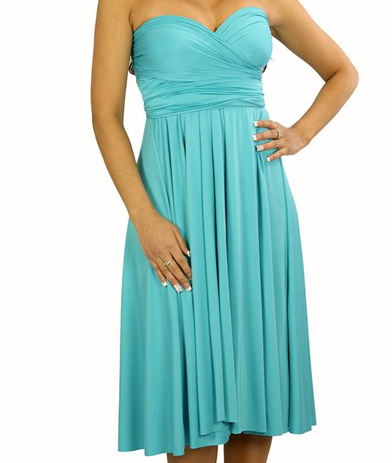Wrap Magic Skirt Convertible Dress 19