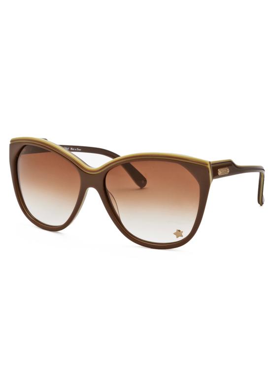 Chloe 79s Gold Frame Sunglasses : Womens Designer Sunglasses