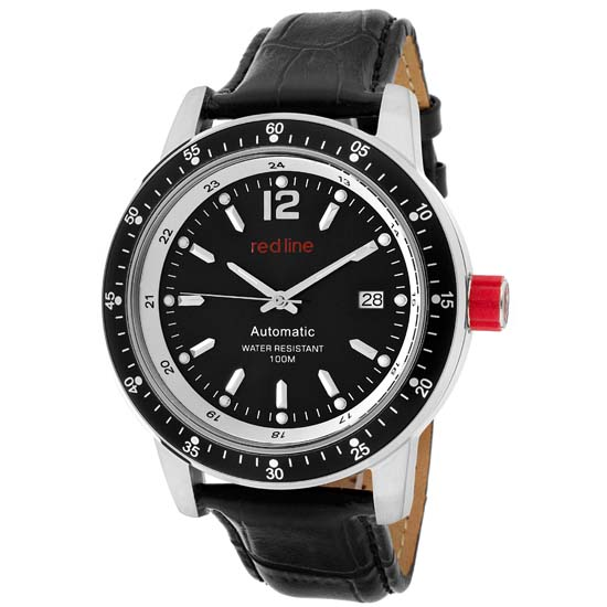 Red Line Meter Men's Automatic Watches - photo #4