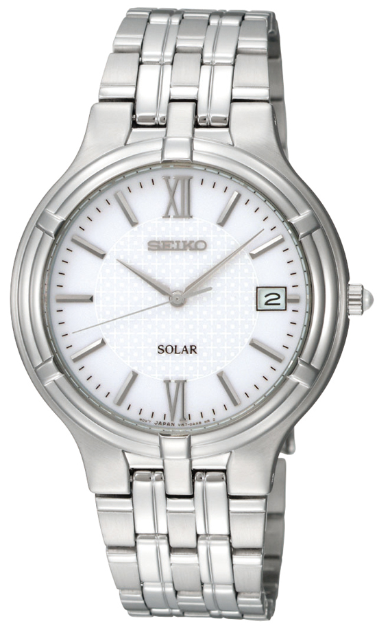Seiko men s solar power watches for Solar power watches