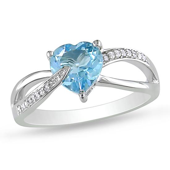 crystal sky grande ring topaz silver sterling rings waterford blue product