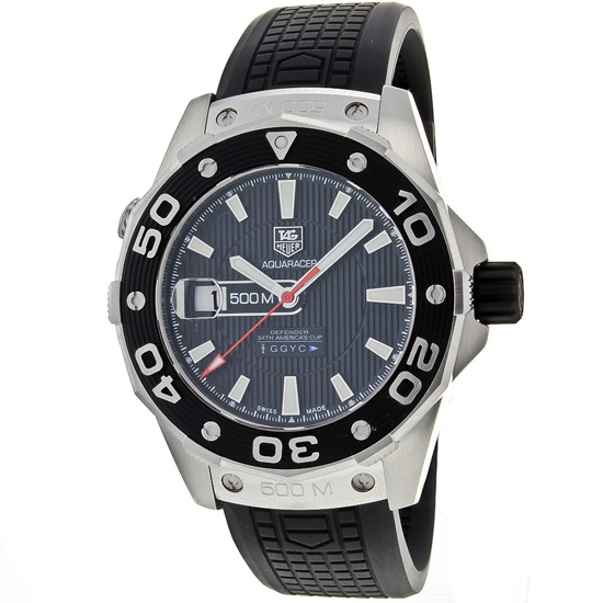 tag heuer watches 1799 99 for tag heuer men s watch aquaracer black black dial 2900 list price