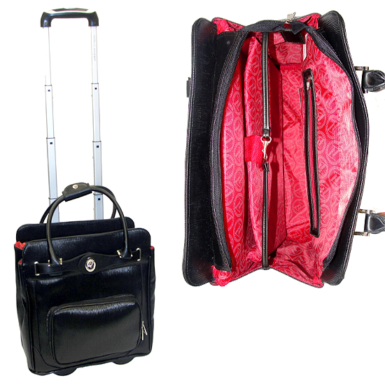 Adrienne Vittadini Rolling Laptop Bags