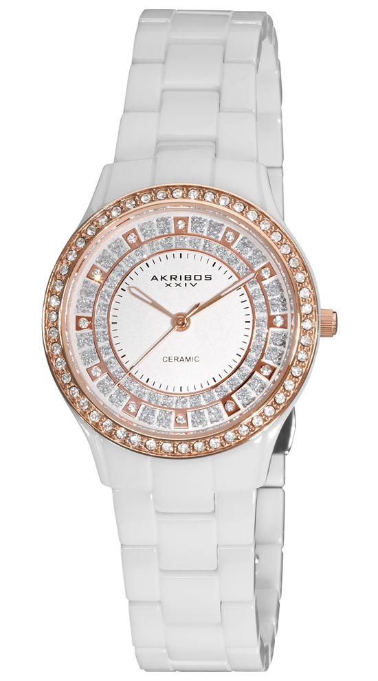 akribos xxiv ceramic watches for and