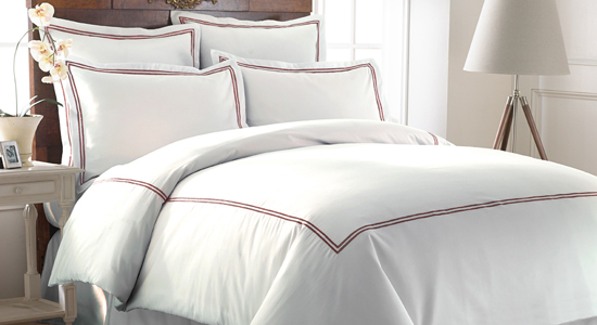 stripe check count set thread hotel bedding dp collection duvet cotton luxury satin cover