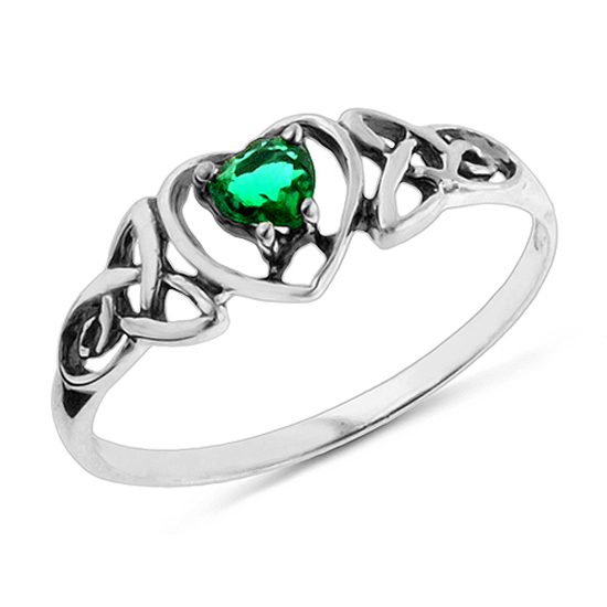 inspired sterling silver and emerald jewelry