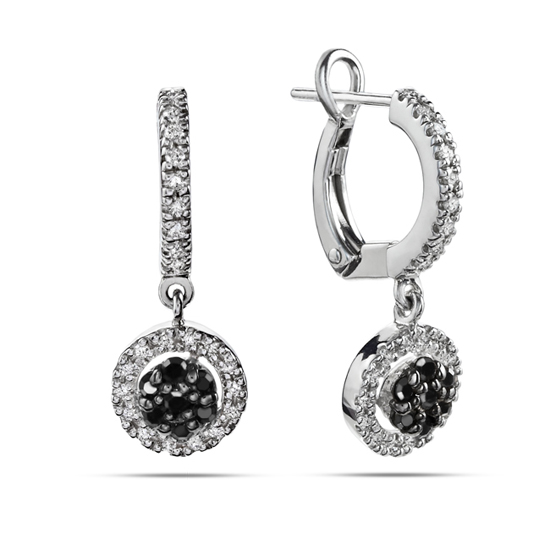 black and white diamond earrings. Black Bedroom Furniture Sets. Home Design Ideas