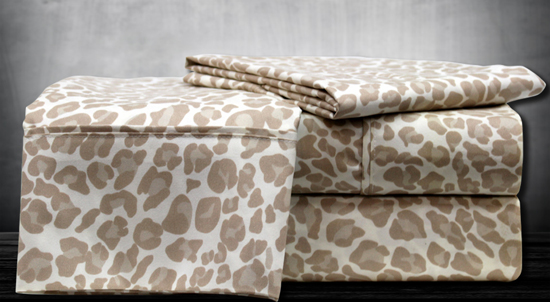 Hotel Collection Animal-Print Sheets