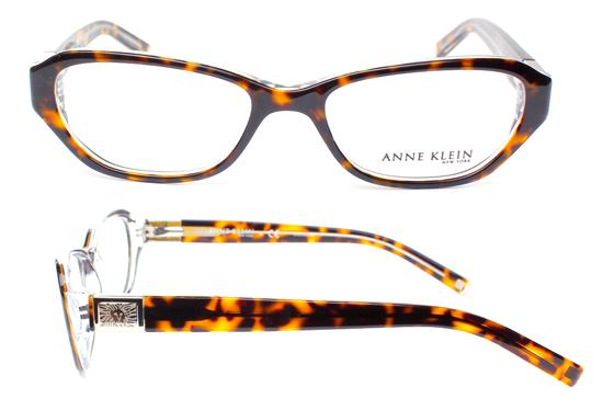 anne klein womens optic frame eyeglasses tortoise 0ak8105 233 51 117 list price