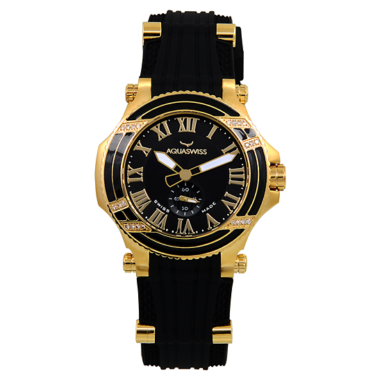 aquaswiss diamond watches for men and women
