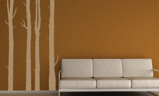 Art Wall Decals Color Light Brown Sisterspd