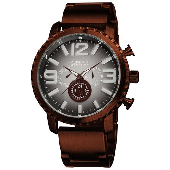 August steiner men s watches for Gradient dial watch