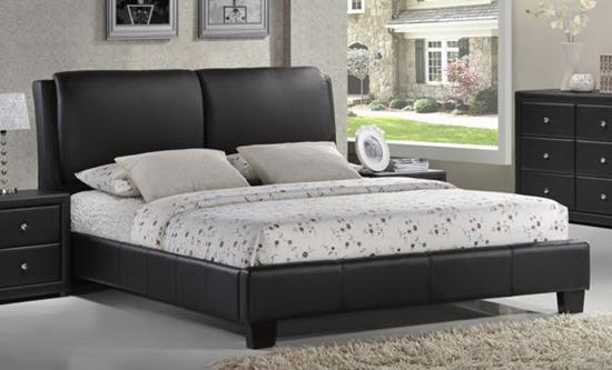 Image Result For Baxton Studio Sabrina Black Modern Bed