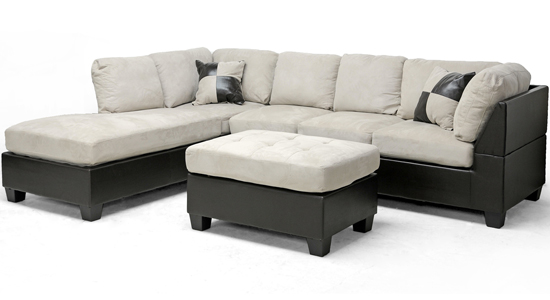 sc 1 st  Groupon : sectional sofa left chaise - Sectionals, Sofas & Couches
