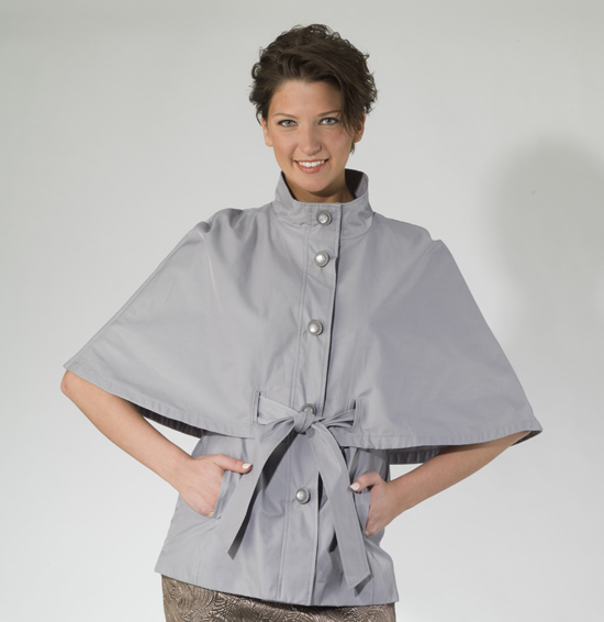 Cape Cod Groupon: Betsey Johnson Belted Cape
