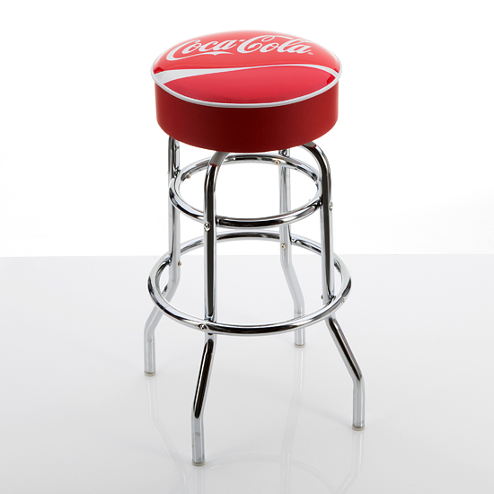 Beverage Branded Padded Barstools