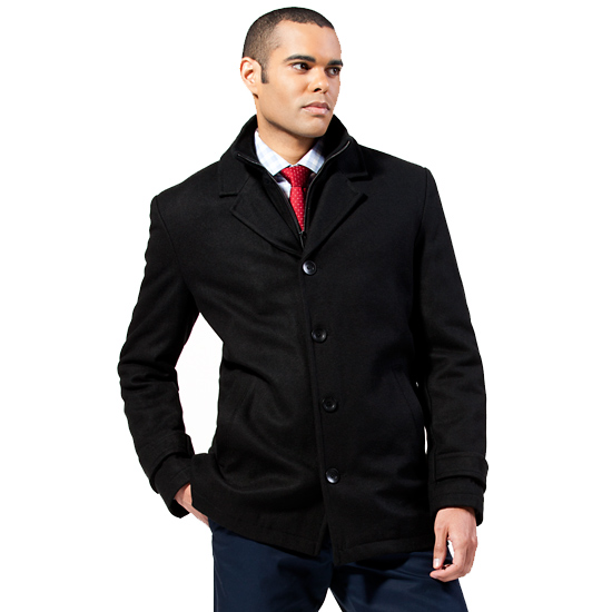 Black Rivet Men's Coats