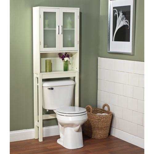 New Bathroom Cabinet Over Toilet Shelf Space Saver Storage Adjustable