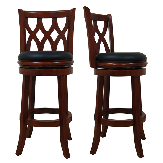 Boraam Kathedra 29-Inch Swivel Bar Stool Cherry (40529)  sc 1 st  Groupon & Boraam Industries Barstools islam-shia.org