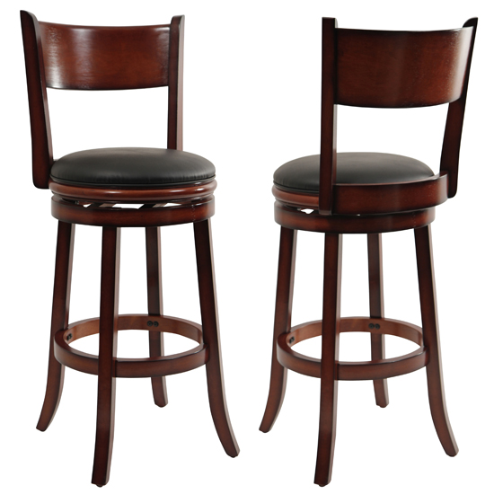 Boraam Industries Barstools : 852896481292BoraamChisholm29 InchSwivelBarStoolBrandy284812929 from www.groupon.com size 550 x 550 jpeg 111kB