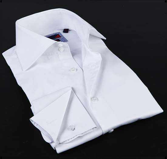 Mens french cuff dress shirts french cuff shirt men for Mens white french cuff shirt