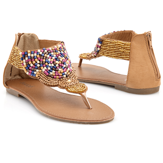 Bucco Women S Beaded Sandals
