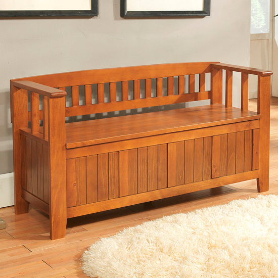 Simpli Home Entryway Storage Benches