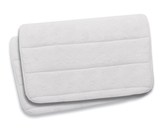 Spalux 2 Piece Microfiber Memory Foam Bathmat Sets