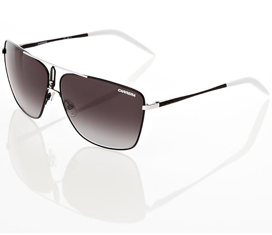 270643cefc75 $55.99 for Carrera Aviator Sunglasses: Carrera 43 in Black-White Metal Frame/Dark  Gray Lens (HMF) ($120 List Price)