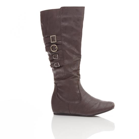 Popular  Women Enzo Angiolini 39Saylem39 Riding Boot Womens Dark Brown Leather