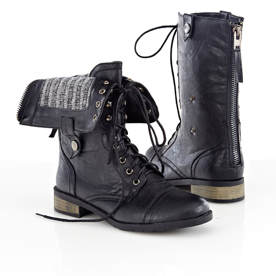 Popular Black Leather Boots