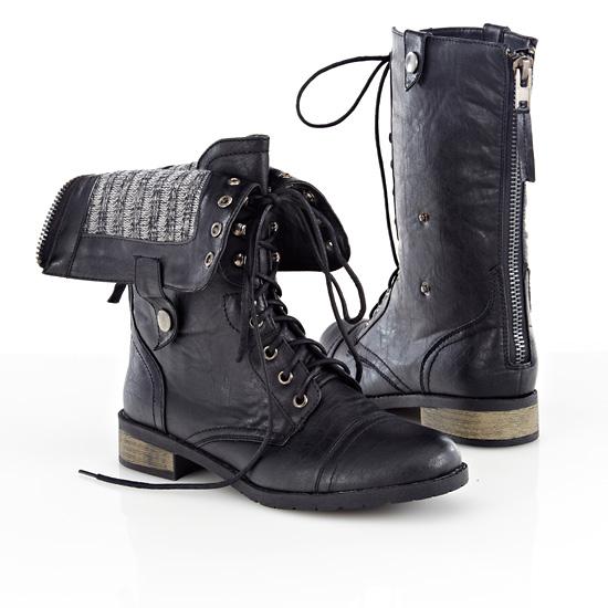 carrini s vegan leather boots