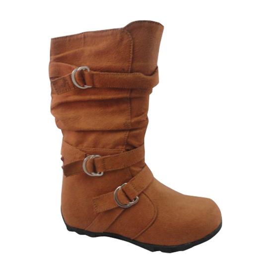 carrini children s faux suede boots