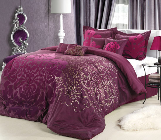 Chic home 8 piece comforter set for City chic bedding home goods