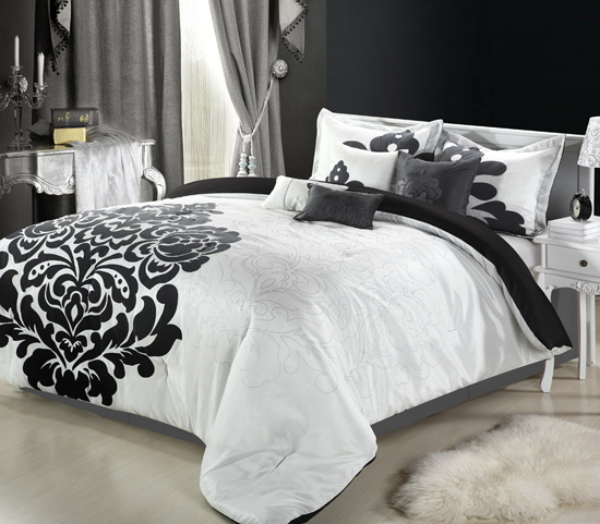 Chic home eight piece comforter set for City chic bedding home goods
