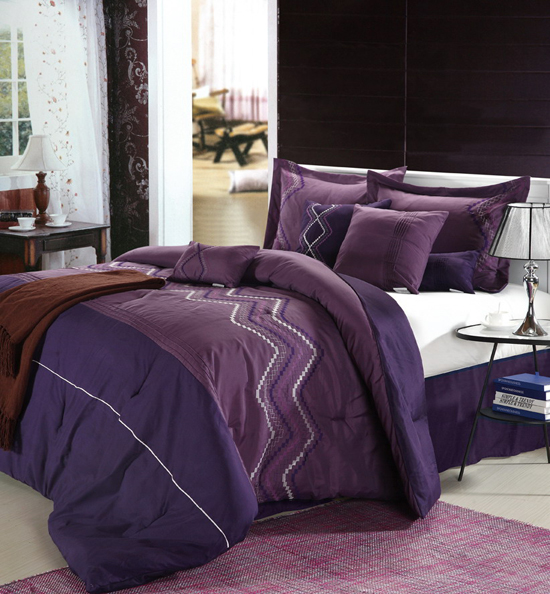 Chic Home Eight Piece Comforter Set