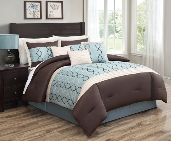 Hyde park 7 piece comforter sets for City chic bedding home goods